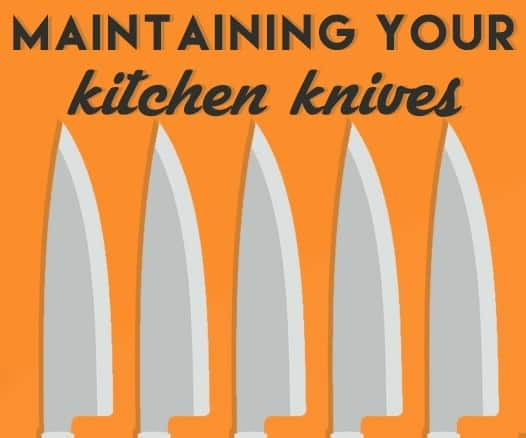 kitchen knife care