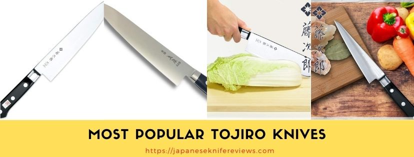 top Tojiro brand knives