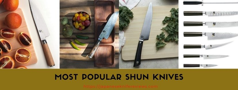 top shun brand knives