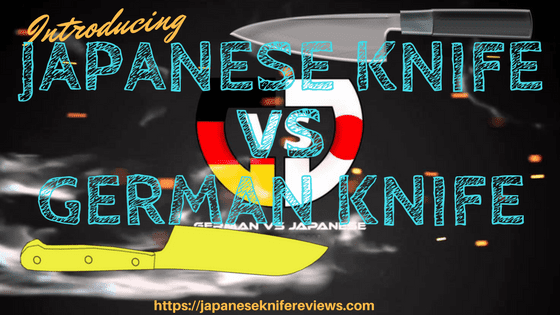 japanese knife vs german knife