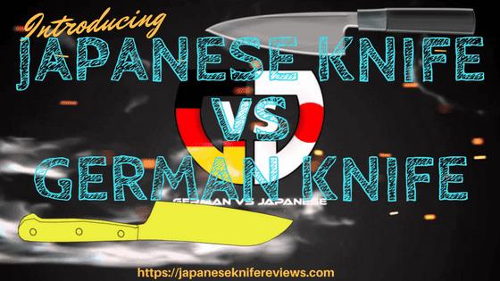 japanese knife vs german knife
