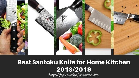 Best santoku knife for home kitchen
