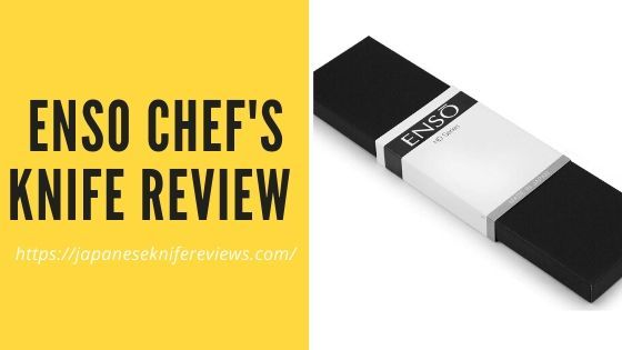 Enso Chefs Knife Review by JKR