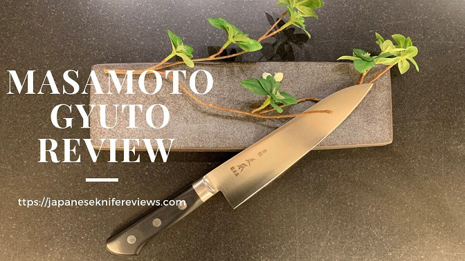 Masamoto Gyuto chef knife review