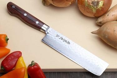 Yoshihiro VG-10 nakiri knife review