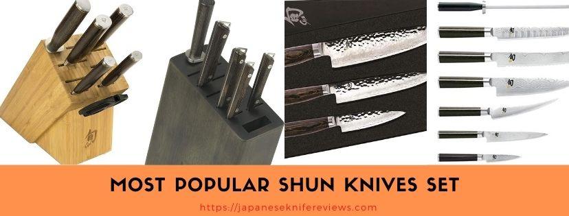 shun knives set review