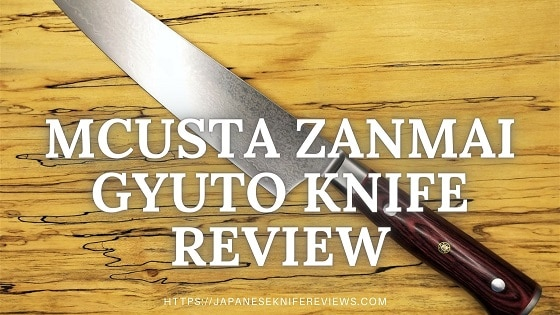Mcusta Zanmai Gyuto Knife Review