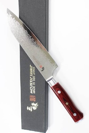 mcusta zanmai classic chef knife review